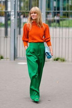 The Best Street Style At Paris Fashion Week Spring Summer 2018