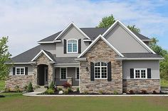 Plan 20-2126 - Houseplans.com: love the color scheme inside and out!