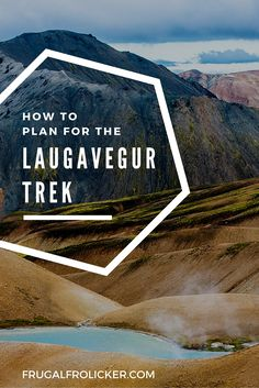 Getting ready for a 5-day trek in Iceland and picking up some great tips!