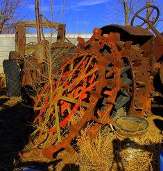 Rusting Wheels by gamp, via Flickr
