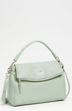 Can I please have this purse? mint green is my love. kate spade new york 'cobble hill - little minka' satchel | Nordstrom