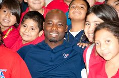 The Houston Community College Foundation and the Houston Texans are celebrating after joining forces to launch the HCC Field of Opportunity Program. This program builds on HCC's Opportunity 14 scholarships already administered by the Houston Community College Foundation. It will also provide a minimum of $50,000 in scholarships annually to members of the Boys & Girls Club. Houston Texans cornerback Johnathan Joseph joined children to celebrate the HCC Field of Opportunity Program.