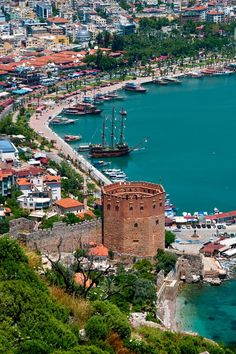 Alanya, Turkey  - I will be here this summer! There's one daydreamer with a check on her list of Must See