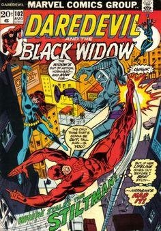 Daredevil and Black Widow comic
