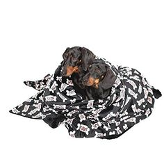 Utex Pet Blanket 56 x 68 Inches Warm Soft Plush Microfiber Pet Blanket for Couch Car Trunk Cage Kennel Dog House Puppy Kitten Bed Hot Dog Bone Large >>> See this great product. (This is an affiliate link)