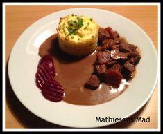 Kartoffel - sellerimos bagt - Mathiesens Mad Beef, Food, Meat, Eten, Ox, Ground Beef, Meals, Steak, Diet