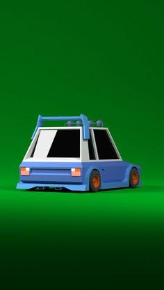 VW Polo 1981 Rear: