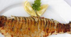 Ropogós-fűszeres sült hal Hungarian Recipes, Fish Recipes, Bacon, Cooking Recipes, Chicken, Vegetables, Breakfast, Foods, Drinks