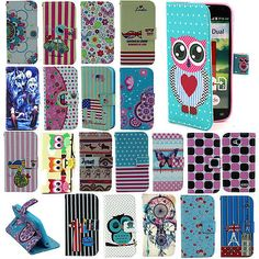 Hybrid-PU-Leather-Wallet-Pouch-Flip-Cover-Case-For-LG-Optimus-L90-Smart-Phone