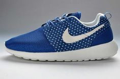 Nike Roshe Run Mesh Womens Blue White Amour Pattern UK 2015 Online
