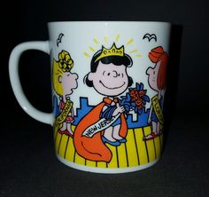 Peanuts Miss New Jersey Snoopy Lucy Mug Ms. Atlantic City Boardwalk - Very Nice | Collectibles, Animation Art & Characters, Animation Characters | eBay!