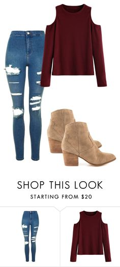 """Cosy"" by grraciie-386 on Polyvore featuring Topshop and ALDO"