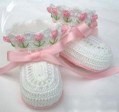 How sweet! Preciosos zapatitos de bebe