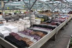 Bloempotten in verschillende maten