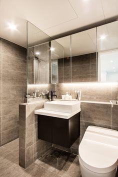 moderne Badezimmer von 봄디자인