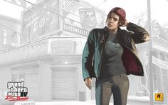 Filename: Grand Theft Auto IV: The Lost and Damned game wallpaper Resolution: File size: 568 kB Uploaded: Eldred Grant Date: Grand Theft Auto 4, Grand Theft Auto Series, Ashley Butler, Rockstar Games Gta, D20 Modern, Gaming Accessories, Shadowrun, Best Games, Military Jacket