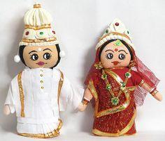 Bengali Bridal Couple (Cloth)