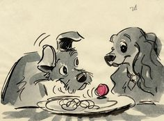 Lady and the Tramp concept art