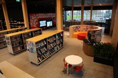 Library at The Dock - City of Melbourne Docklands Library - opened May 2014 - children's kids area