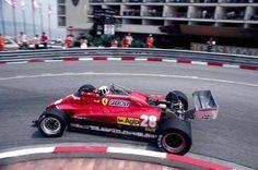 Didier Pironi - Ferrari 126C2 - 1982 - Monte Carlo, Monaco Grand