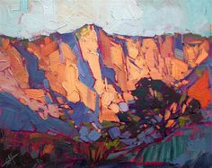 Kolob Canyon original oil painting by Erin Hanson