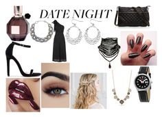 """""""Valentines Date Night!"""" by fallen-wolf ❤ liked on Polyvore featuring Viktor & Rolf, Mondaine, Avenue, DIANA BROUSSARD, Kate Spade and DateNight"""