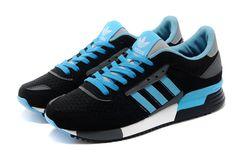 finest selection 0598c 384c7 Adidas Original ZX 630 Negro azul hombres Trainers Corriendo Zapatos D67743