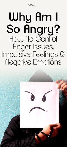 Knowing how to control anger issues is key in regard to keeping negative emotions in check, so here's how to stop impulsive behavior and get both your feelings and temper under control before you do something you'll regret. Control Anger Quotes, How To Control Emotions, Controlling Emotions, Anger Control, Impulse Control, How To Stop Depression, Anger Depression, Overcoming Depression, Self Esteem