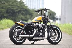#Sportster Forty-Eight XL1200X | Every #motorcycle speaks of it's riders generation and in #Japan the Sportster Forty-Eight seems to be quite popular amongst young #riders.