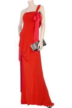 CHRISTIAN LACROIX One Shoulder Gown Dress