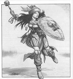 Cleric.  By Larry Elmore.
