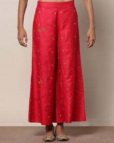 Palazzo Pants, Harem Pants, Pajama Pants, Trousers, Pink Pants, Pure Silk, Ethnic, Indie, Pants For Women
