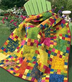 confetti quilt kit the colors are so tasty and love the pattern, i have to try and make this one