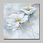 Peint à la main Abstrait / A fleurs/Botanique Peintures à l'huile,Modern / Classique Un Panneau Toile Peinture à l'huile Hang-peint For de 2017 ? $1562.78