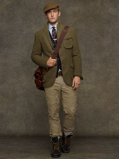Adams Row Anderson Little Mens Gray Tweed Sport Coat Size 40R ...