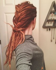 Dreadlocks and dreadlock style. girls with dreads                                                                                                                                                     More