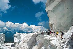 Hiking in Carrara Italy