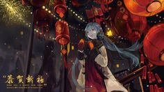 """""""Wish you a Happy (Belated) New Year!"""" [VOCALOID] [1920x1080] [x-post /r/moescape] Need #iPhone #6S #Plus #Wallpaper/ #Background for #IPhone6SPlus? Follow iPhone 6S Plus 3Wallpapers/ #Backgrounds Must to Have http://ift.tt/1SfrOMr"""