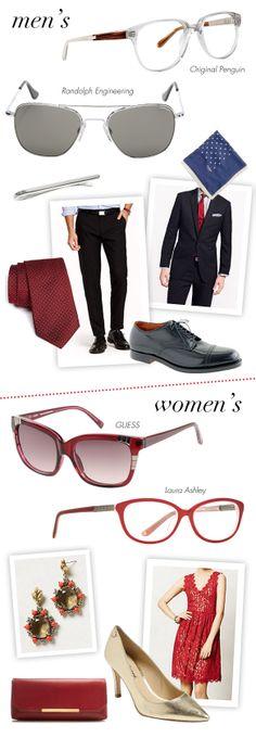Holiday Garb + Eyewear Galore: http://eyecessorizeblog.com/?p=5414