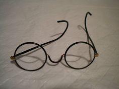 ab86495bf53 Vintage 1920 Optical Bifocal WINDSOR black Bakelite Round Eyeglasses  Spectacles Disney Collectibles