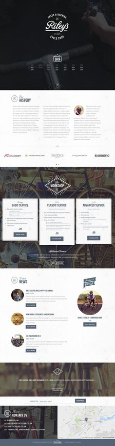 Rileys Cycles is a traditional bike shop based in Sherborne, Dorset. Offering quality bike servicing, new used bike sale - Best Webdesign inspiration on www.niceoneilike.com