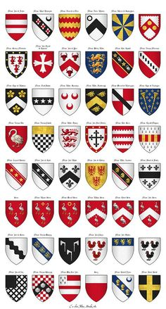 640px-The_Surrey_Roll_of_Arms_(aka_Willement's_Roll)_-_Shields_554-601.jpg (640×1192)