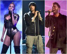 Beyonce, The Weeknd, And Eminem to headline Coachella 2018