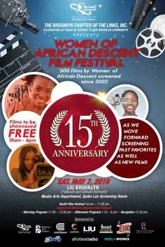 AFRICAN WOMEN IN CINEMA BLOG: The Women of African Descent Film Festival 2016 (New York)