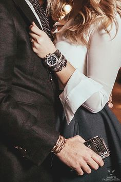 watchfashionista:  His & Hers.