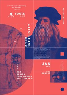 Graphic Design-Roots 2018 on BehanceYou can find Poster designs and more on our website.Graphic Design-Roots 2018 on Behance Graphic Design Resume, Graphic Design Trends, Graphic Design Layouts, Freelance Graphic Design, Graphic Design Posters, Modern Graphic Design, Layout Design, Typography Design Layout, Product Design Poster