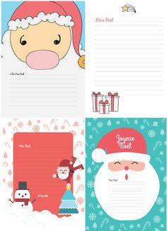 La lettre au Père Noël [Free Printables]