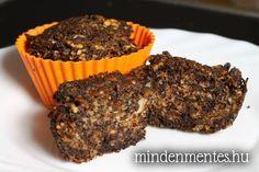 Diós-mákos répatortácskák Paleo, Muffin, Food And Drink, Favorite Recipes, Healthy Recipes, Meals, Cooking, Breakfast, Cukor