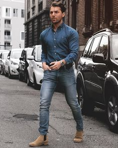 Mens Fashion Smart – The World of Mens Fashion What To Wear Today, How To Wear, Cool Outfits, Fashion Outfits, Fashion Trends, Gents Fashion, Fashion Men, Casual Wear For Men, Work Attire