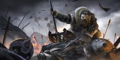 Illustration for the game The Hobbit: Armies of the Third Age